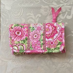 Vera Bradley Petal Pink Wallet Crossbody